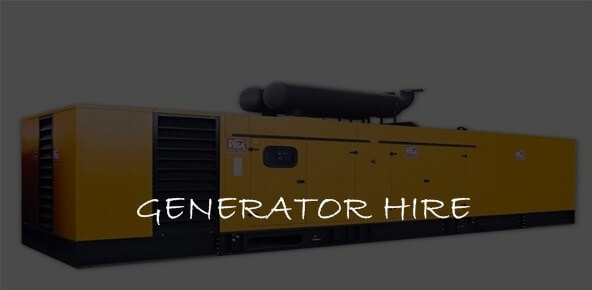 generator hire or rental