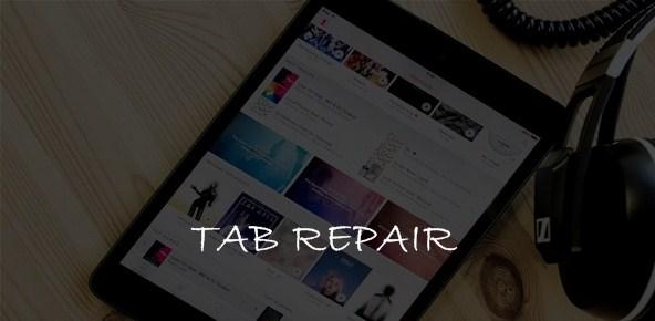 TAB REPAIR