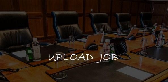 upload job