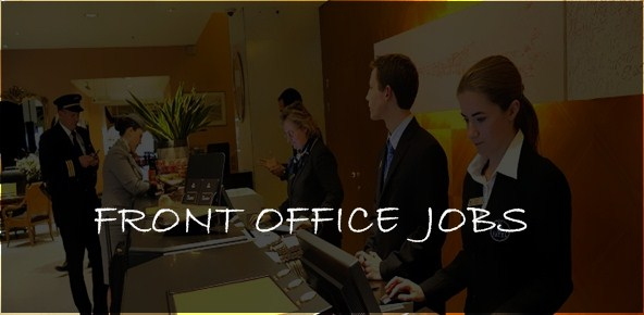 front office and receptionist jobs