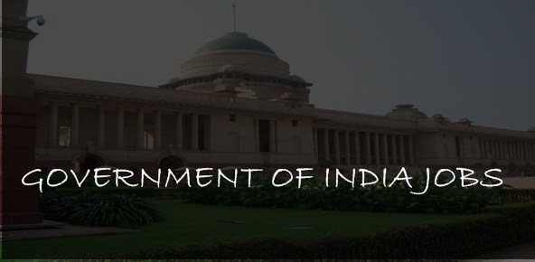 government of india jobs