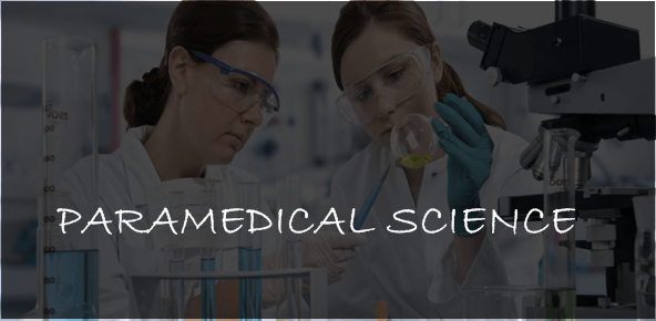 PARAMEDICAL SCIENCE COURSES